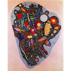 カンディンスキー「規則的な堆積」【ハンカチ・コースター・複製画】
