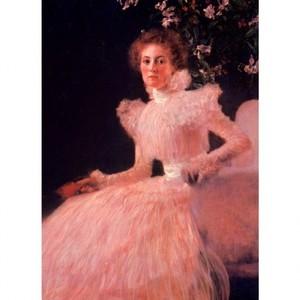 クリムト「ソーニア・クニップスの肖像」【ハンカチ・コースター・複製画】