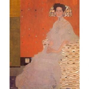 クリムト「フリッツァ・リートラーの肖像」【ハンカチ・コースター・複製画】