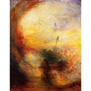ターナー「光と色彩(ゲーテの色彩理論)洪水のあとの朝」【ハンカチ・コースター・複製画】