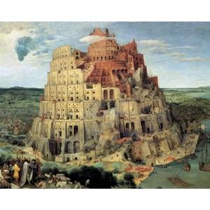 ブリューゲル「バベルの塔」【ハンカチ・コースター・複製画】