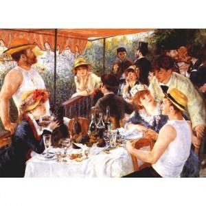 ルノワール「舟遊びをする人たちの昼食」【ハンカチ・コースター・複製画】
