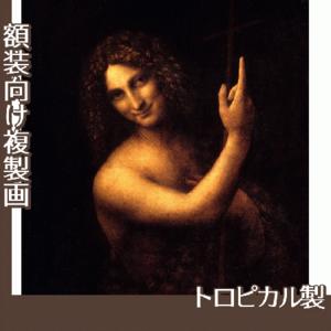 ダヴィンチ「洗礼者ヨハネ」【複製画:トロピカル】