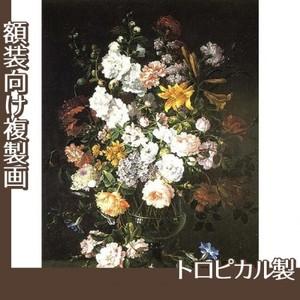 バティスト・モノワイエ「花瓶の花」【複製画:トロピカル】