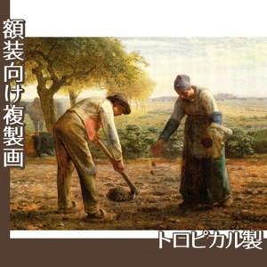 ミレー「馬鈴薯の植付け」【複製画:トロピカル】