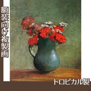 ルドン「花びんと花」【複製画:トロピカル】