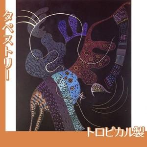 カンディンスキー「白い線」【タペストリー:トロピカル】