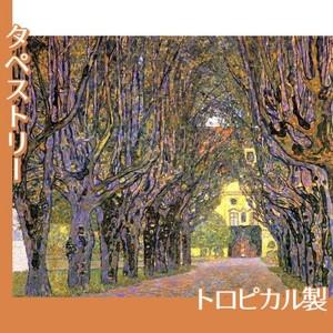 クリムト「カンマー城公園の並木道」【タペストリー:トロピカル】