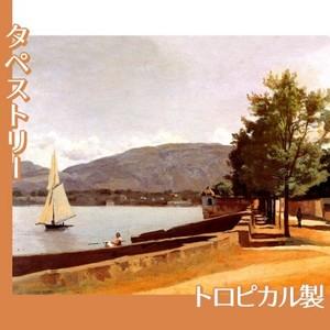 コロー「ジュネーヴのパキ岸壁」【タペストリー:トロピカル】