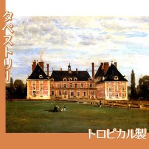 コロー「ロニーのベリー公爵夫人の城」【タペストリー:トロピカル】