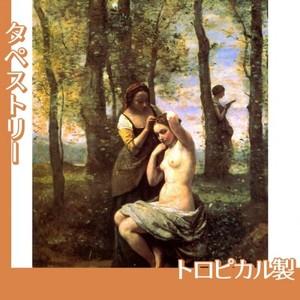 コロー「化粧」【タペストリー:トロピカル】
