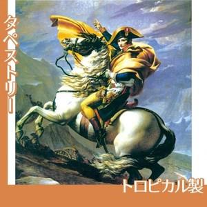 J.Lダヴィッド「アルプスを越えるナポレオン」【タペストリー:トロピカル】
