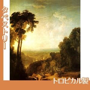 ターナー「小川を渡る」【タペストリー:トロピカル】