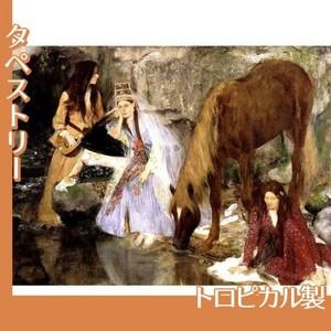 ドガ「バレエ「泉」のフィオルク嬢」【タペストリー:トロピカル】