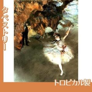 ドガ「花形(エトワール)」【タペストリー:トロピカル】