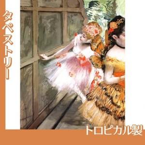ドガ「舞台脇の踊り子たち」【タペストリー:トロピカル】