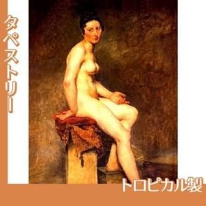 ドラクロワ「坐る裸婦・ローズ嬢」【タペストリー:トロピカル】