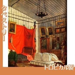ドラクロワ「モルネー伯爵の居室」【タペストリー:トロピカル】