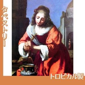 フェルメール「聖女プラクセディス」【タペストリー:トロピカル】