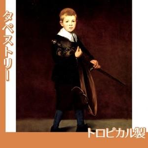 マネ「剣を持つ少年」【タペストリー:トロピカル】