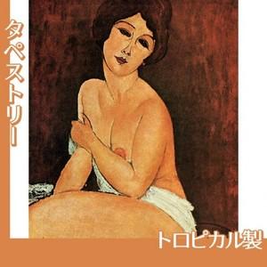 モディリアニ「安楽椅子の上の裸婦」【タペストリー:トロピカル】