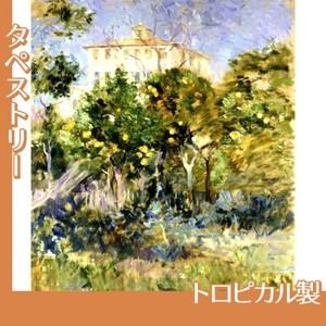 モリゾ「オレンジのなかのヴィラ、ニース」【タペストリー:トロピカル】