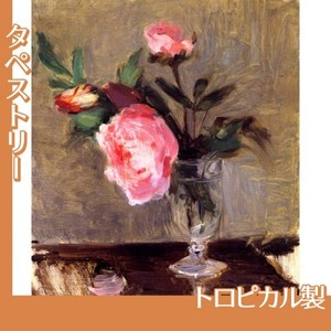 モリゾ「牡丹」【タペストリー:トロピカル】
