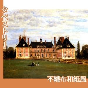 コロー「ロニーのベリー公爵夫人の城」【タペストリー:不織布和紙風】