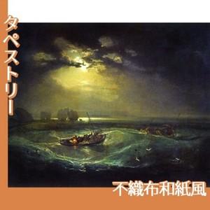 ターナー「海の猟師たち」【タペストリー:不織布和紙風】