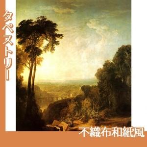 ターナー「小川を渡る」【タペストリー:不織布和紙風】