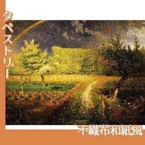 ミレー「春」【タペストリー:不織布和紙風】