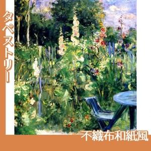 モリゾ「立葵」【タペストリー:不織布和紙風】