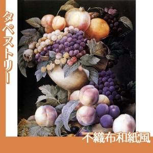 ルドゥーテ「器に盛られたブドウ」【タペストリー:不織布和紙風】