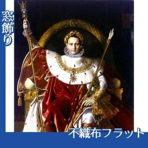 アングル「皇帝の座につくナポレオン1世」【窓飾り:不織布フラット100g】