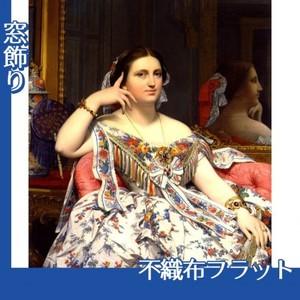 アングル「イネス・モワテシエ夫人(坐像)」【窓飾り:不織布フラット100g】