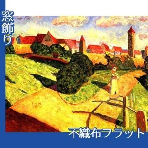 カンディンスキー「古い都市2」【窓飾り:不織布フラット100g】