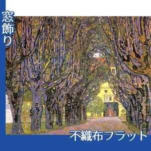 クリムト「カンマー城公園の並木道」【窓飾り:不織布フラット100g】