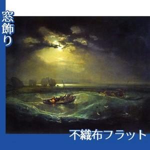 ターナー「海の猟師たち」【窓飾り:不織布フラット100g】