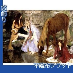 ドガ「バレエ「泉」のフィオルク嬢」【窓飾り:不織布フラット100g】