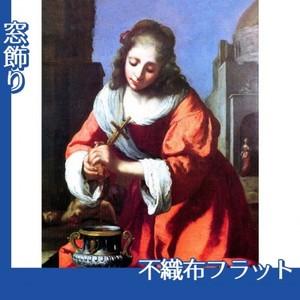フェルメール「聖女プラクセディス」【窓飾り:不織布フラット100g】