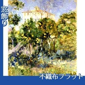 モリゾ「オレンジのなかのヴィラ、ニース」【窓飾り:不織布フラット100g】