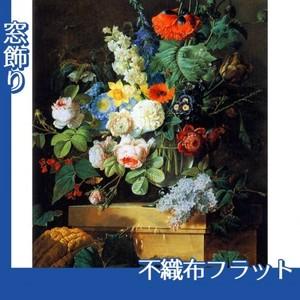 ルドゥーテ「ガラスの花瓶の花」【窓飾り:不織布フラット100g】