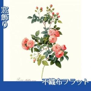 ルドゥーテ「ノイバラ」【窓飾り:不織布フラット100g】