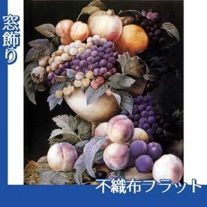 ルドゥーテ「器に盛られたブドウ」【窓飾り:不織布フラット100g】
