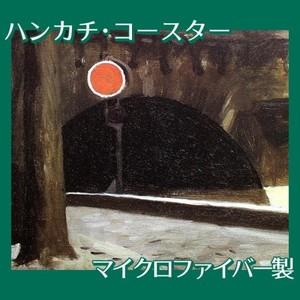 エドワード・ホッパー「パリの橋 1906」【ハンカチ・コースター】