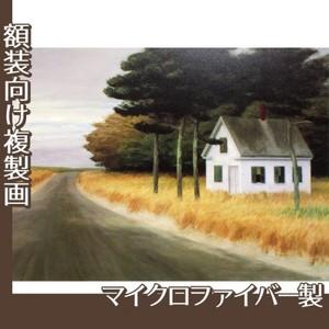 エドワード・ホッパー「孤独 1944」【複製画:マイクロファイバー】