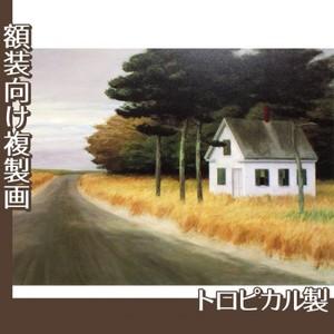 エドワード・ホッパー「孤独 1944」【複製画:トロピカル】