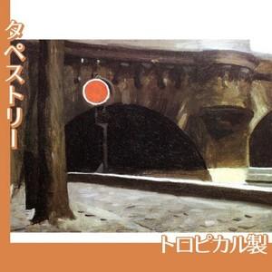 エドワード・ホッパー「パリの橋 1906」【タペストリー:トロピカル】