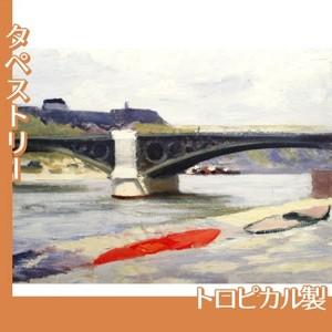 エドワード・ホッパー「カルゼール橋とオルレアン駅 1907」【タペストリー:トロピカル】