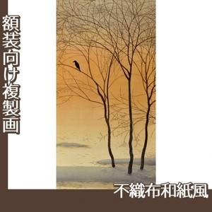 菱田春草「暮色」【複製画:不織布和紙風】